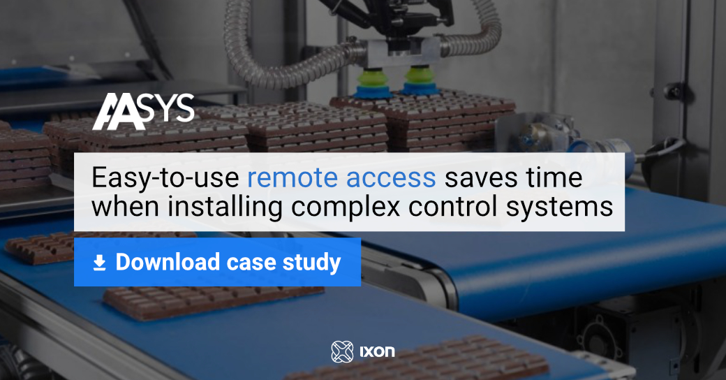 Case Study AASYS smart automation - Easy-to-use remote access saves time installing complex control systems - IXON Cloud