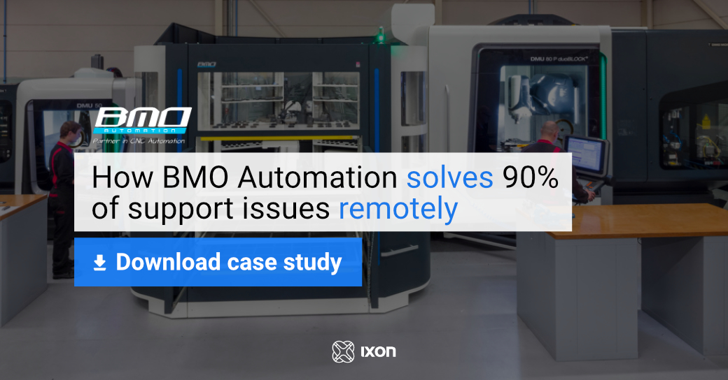 Case study BMO Automation - Using remote access to solve 90% of issues - IXON Cloud