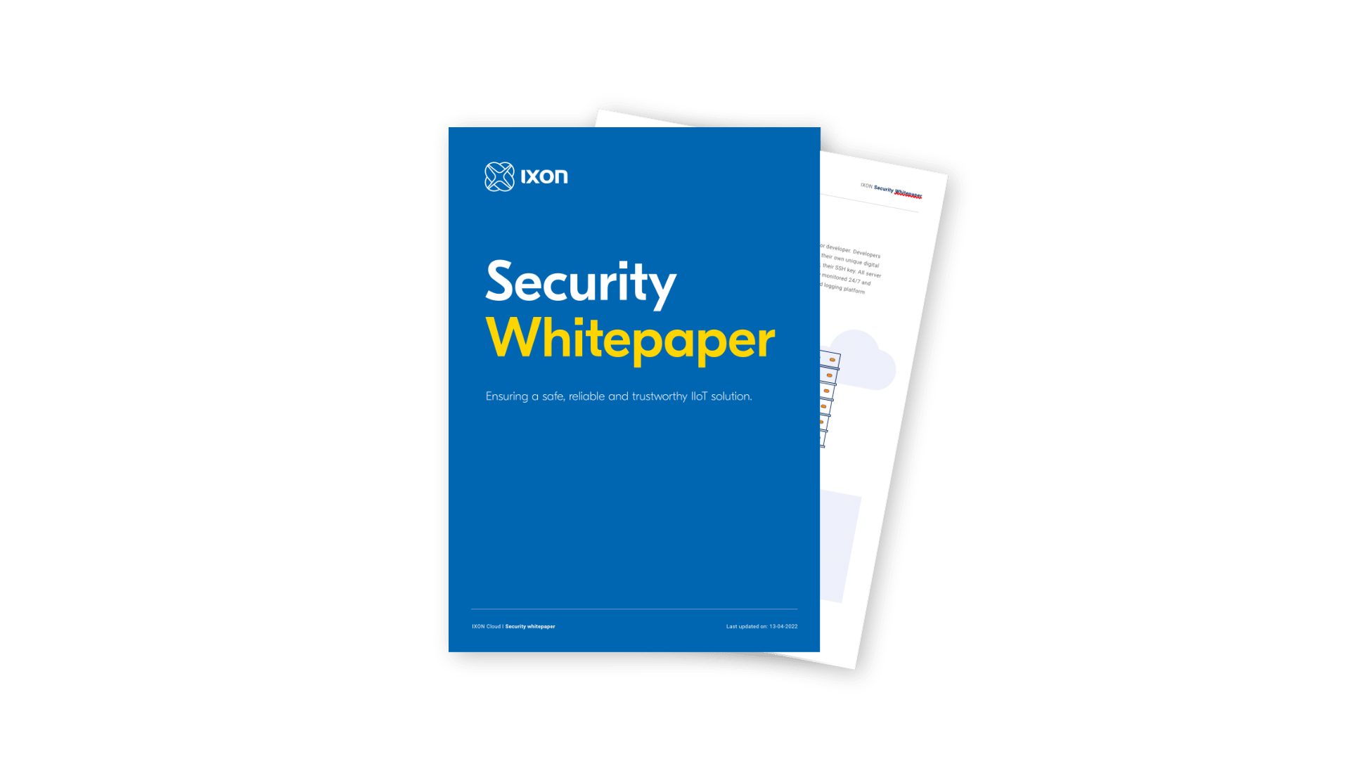 IXON Cloud Security Whitepaper