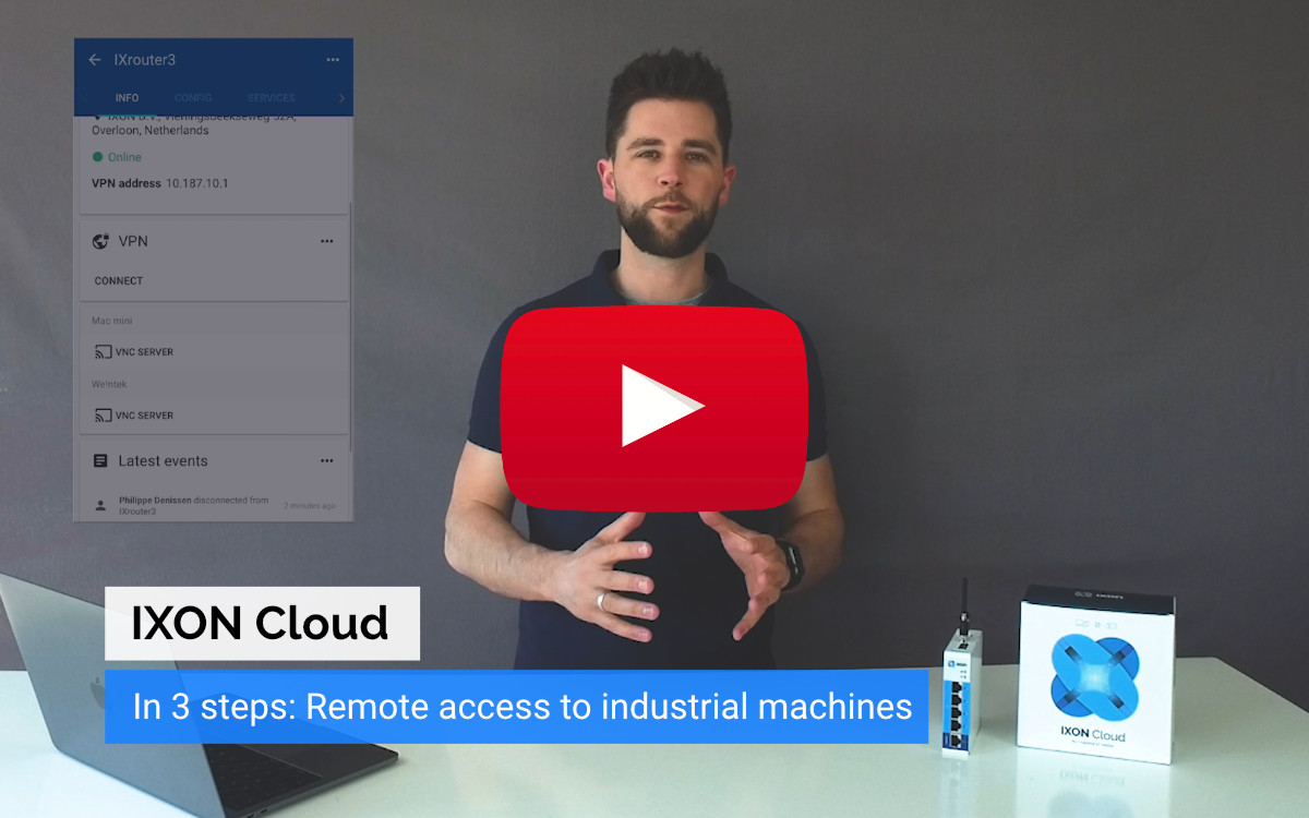 Video - Remote Access made easy with IXON Cloud