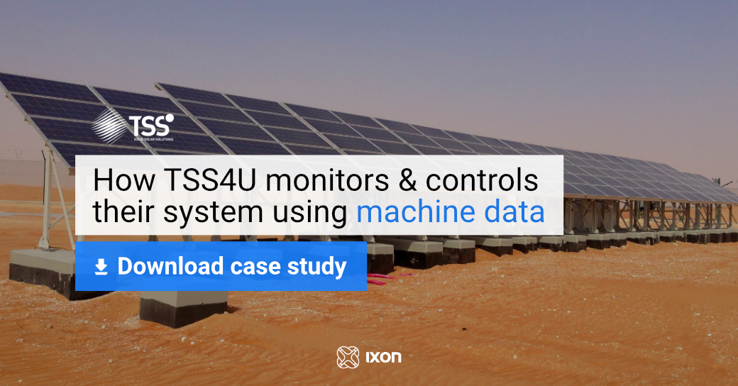 Case study TSS4U - Using machine data to control & monitor their solar systems - IXON Cloud