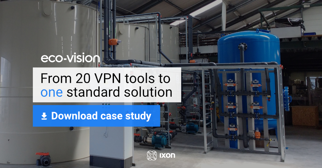 Case study Eco-Vision - From 20 VPN tools to 1 solution for remote access + machine data - IXON Cloud